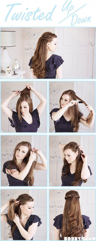 Красивые прически с распущенными волосами своими руками