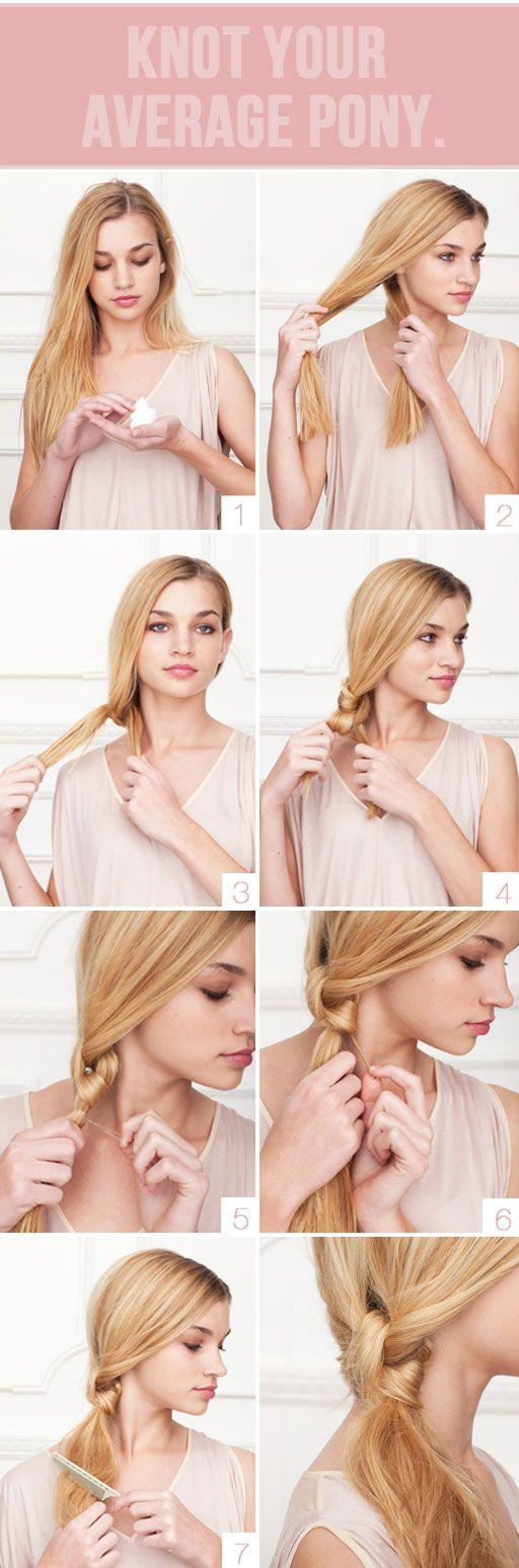Красивые несложные причёски для длинных волос