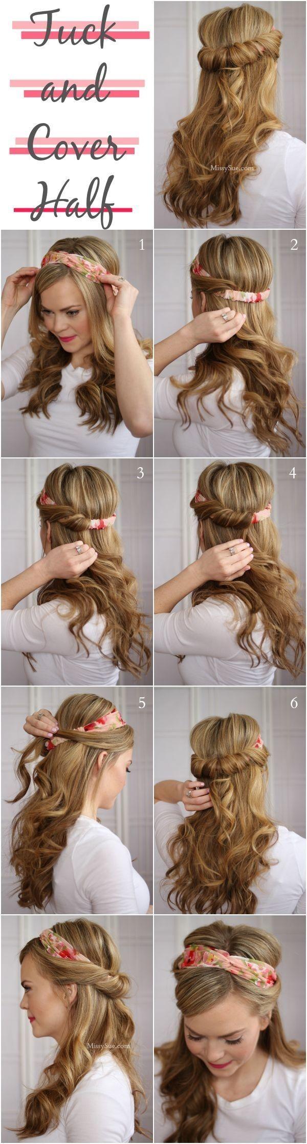 Красивые простые прически на длинные волосы своими