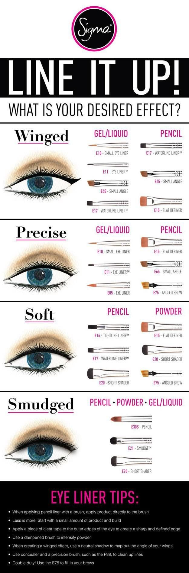 Best Makeup Eyeliner Brushes   Best Makeup Tutorials And Beauty Tips From The We...
