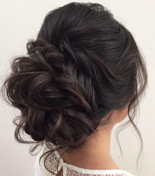 Featured Hairstyle:Heidi Marie Garrett;www.hairandmakeupgirl.com; Wedding ha...