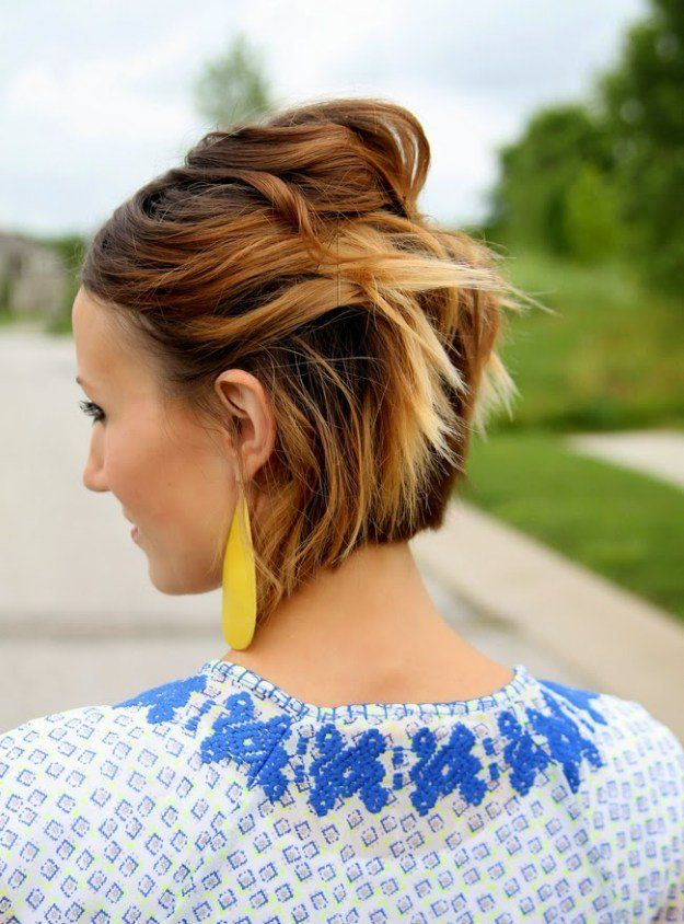 Best Short Hairstyles for Spring   Spring Looks by Makeup Tutorials at makeuptut...