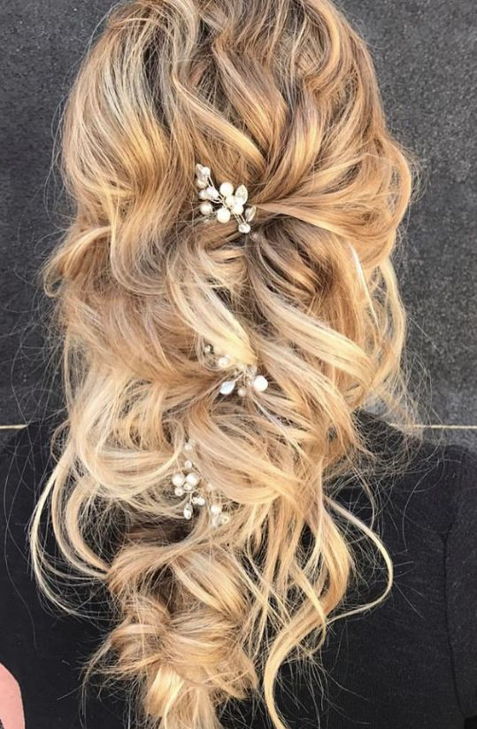 Featured Hairstyle: Hair and Makeup by Steph (Stephanie Brinkerhoff);www.hai...