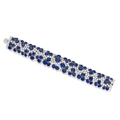 Sapphire and Diamond Bracelet | lot