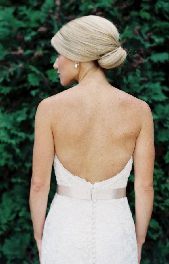 Featured Photographer: Annie Parish Photography; Wedding hairstyle idea....