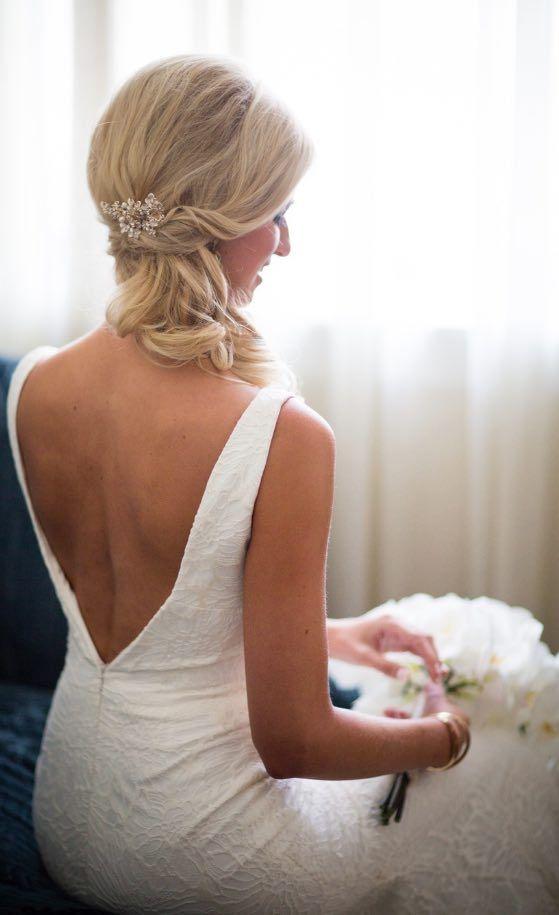 Featured Photographer: Asya Photography; Wedding hairstyle idea....