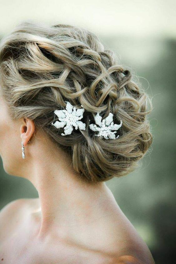 Featured Photographer: Kelly Brown Weddings; Wedding hairstyle idea....