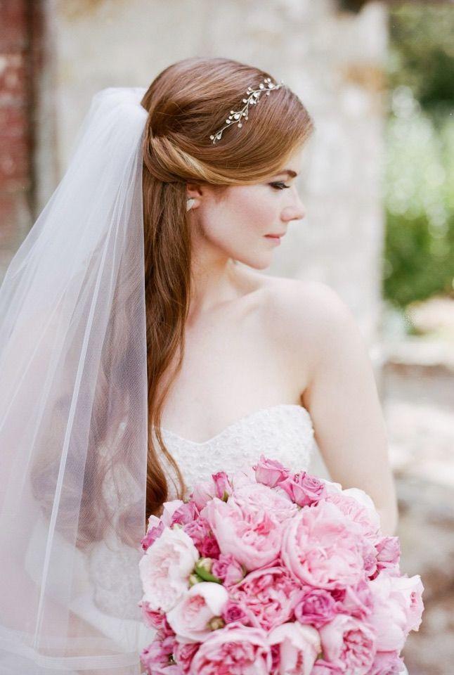 Featured Photographer: Sylvie Gil Photography; Wedding hairstyle idea....