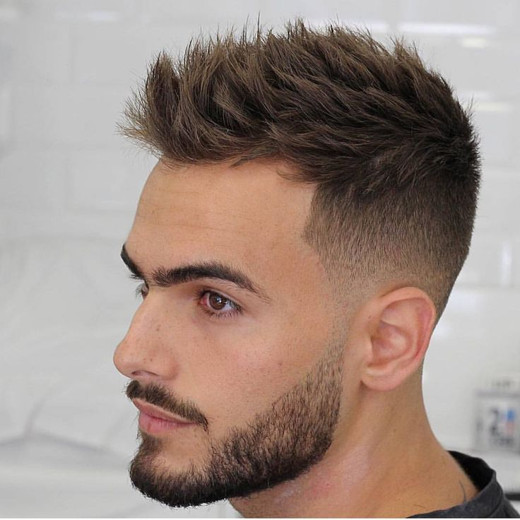 24 Amazing Latest Hairstyles Haircuts For Men S 2018: Fashionable Men's Haircuts. : Short Faded Hair