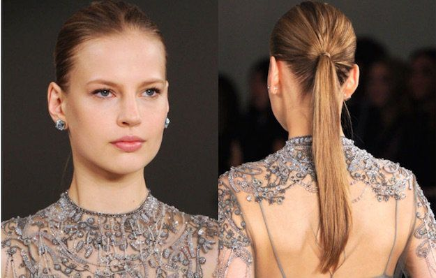 Classic Ponytail | Homecoming Dance Hairstyles Inspiration Perfect For The Queen...