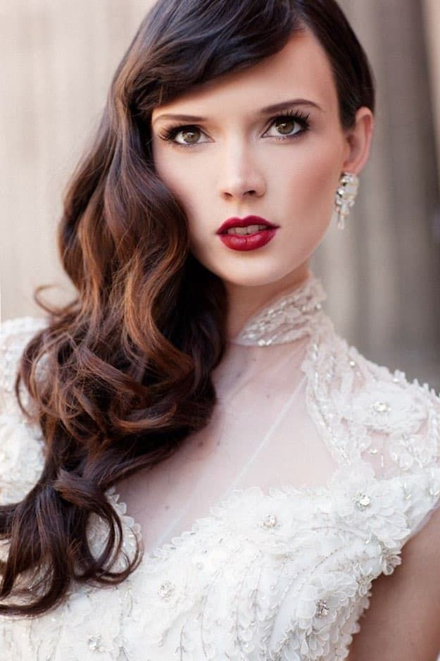 Wine Inspired | Wedding Makeup Looks Inspiration For Your Big Day...