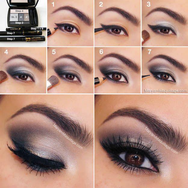 Makeup Tutorials Makeup Tips Silver Eyes Eyeshadow For Brown