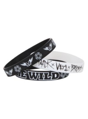 Black Veil Brides The Wild Ones Rubber Bracelet 3 Pack