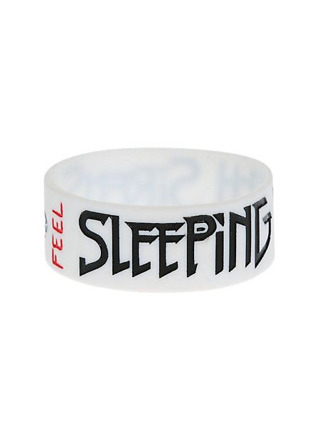 Sleeping With Sirens Feel Rubber Bracelet | Hot Topic