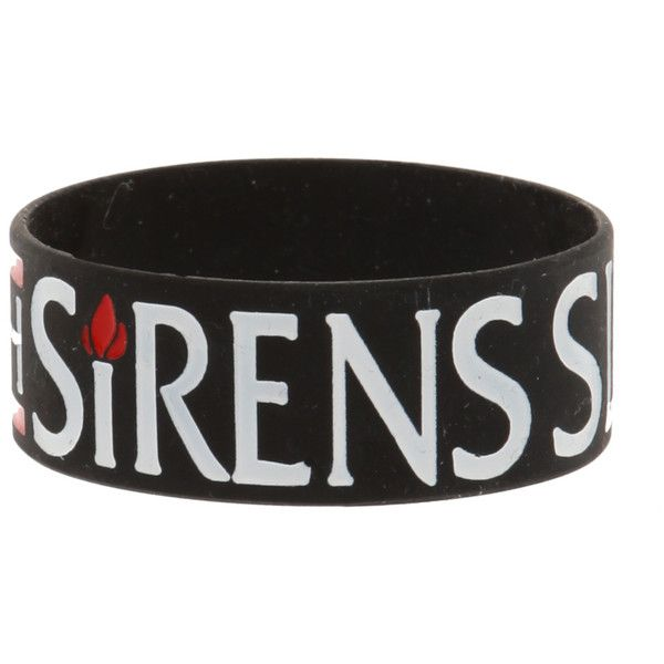Sleeping With Sirens Flame Rubber Bracelet | Hot Topic...