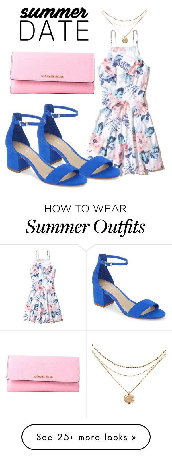 """""""A Summer Date Night Outfit"""" by janaenae0223 on Polyvore featuring Hol..."""
