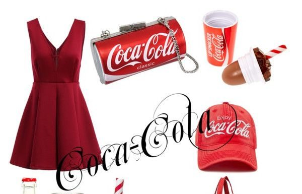 summer outfits coca cola outfit by fizza fahim on polyvore