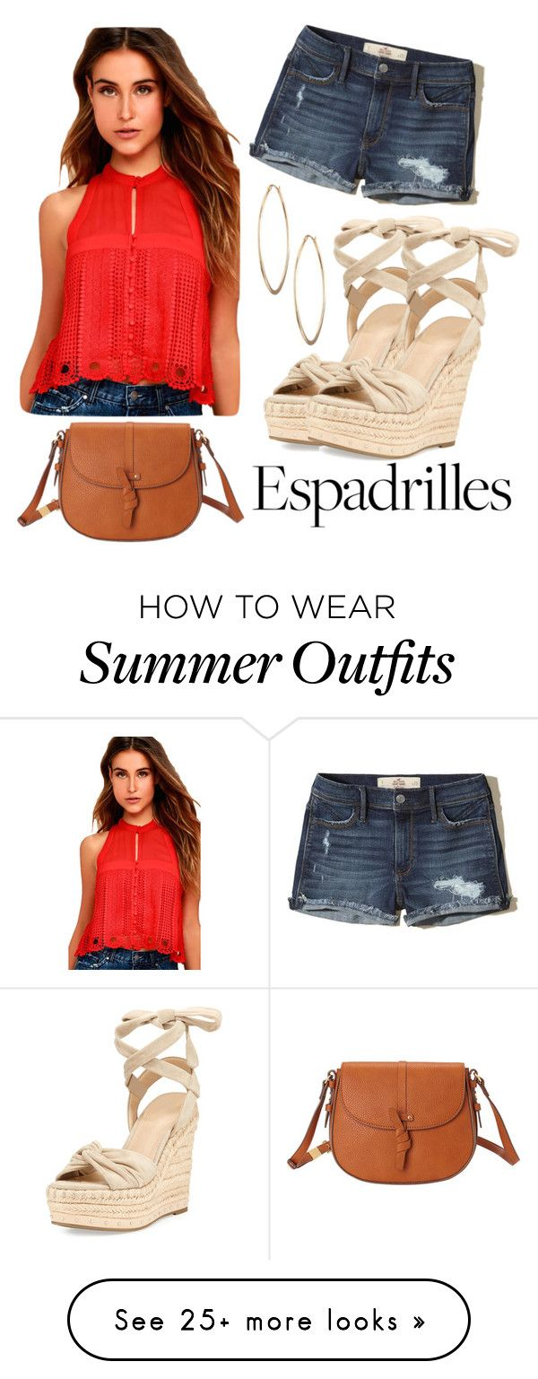 """Espadrille Outfit"" by kerryhealey on Polyvore featuring Foley + Corin..."