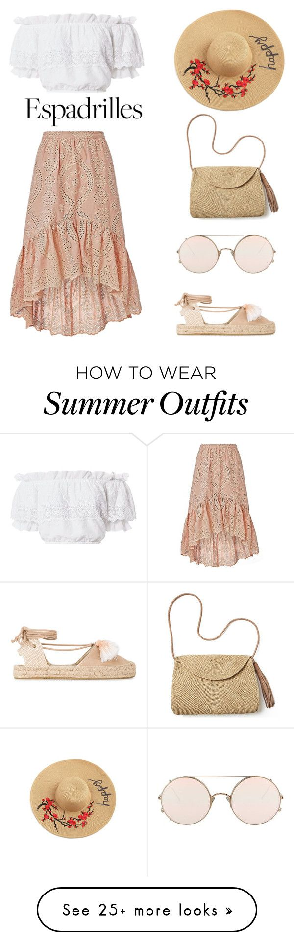 """Espadrilles for the day outfit"" by trishsa on Polyvore featuring Solu..."
