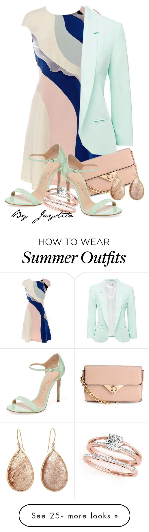 """Minty wedding"" by jaystilo on Polyvore featuring HUISHAN ZHANG, H&amp..."
