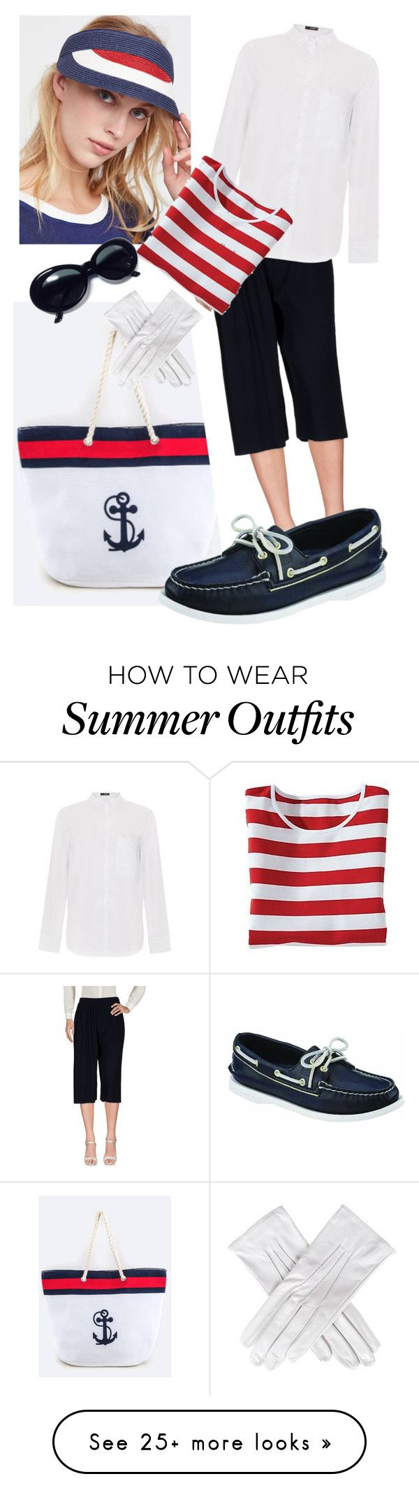 """""""Nautical"""" by granmaboat on Polyvore featuring Free People, Issey Miya..."""