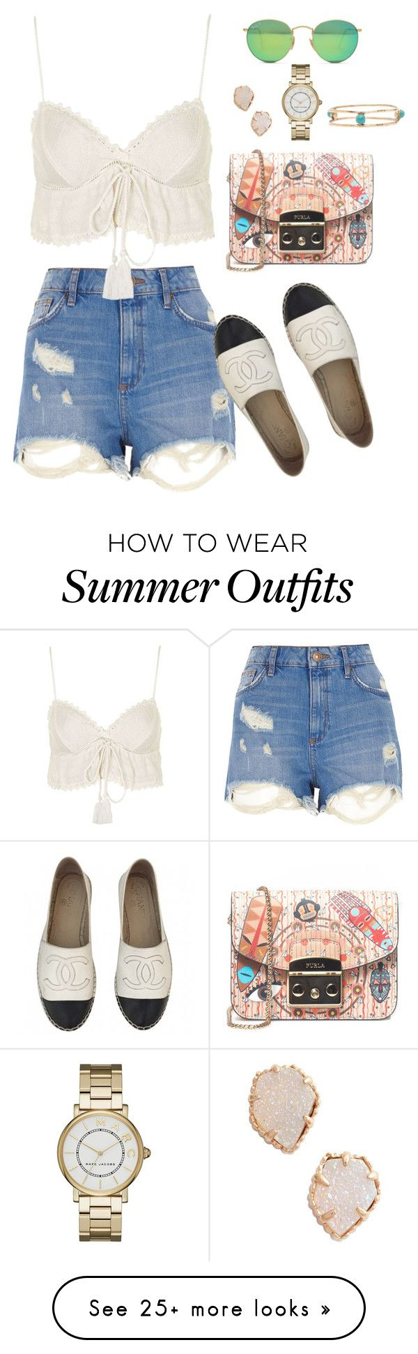"""Outfit 478"" by caa123 on Polyvore featuring River Island, Topshop, Ch..."