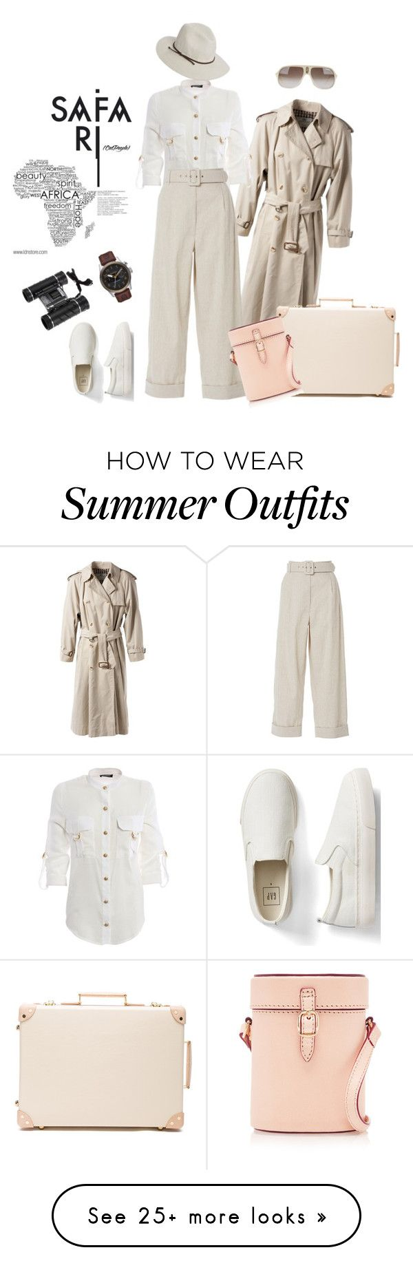 """""""outfit 6405"""" by natalyag on Polyvore featuring Aquascutum, Balmain, I..."""