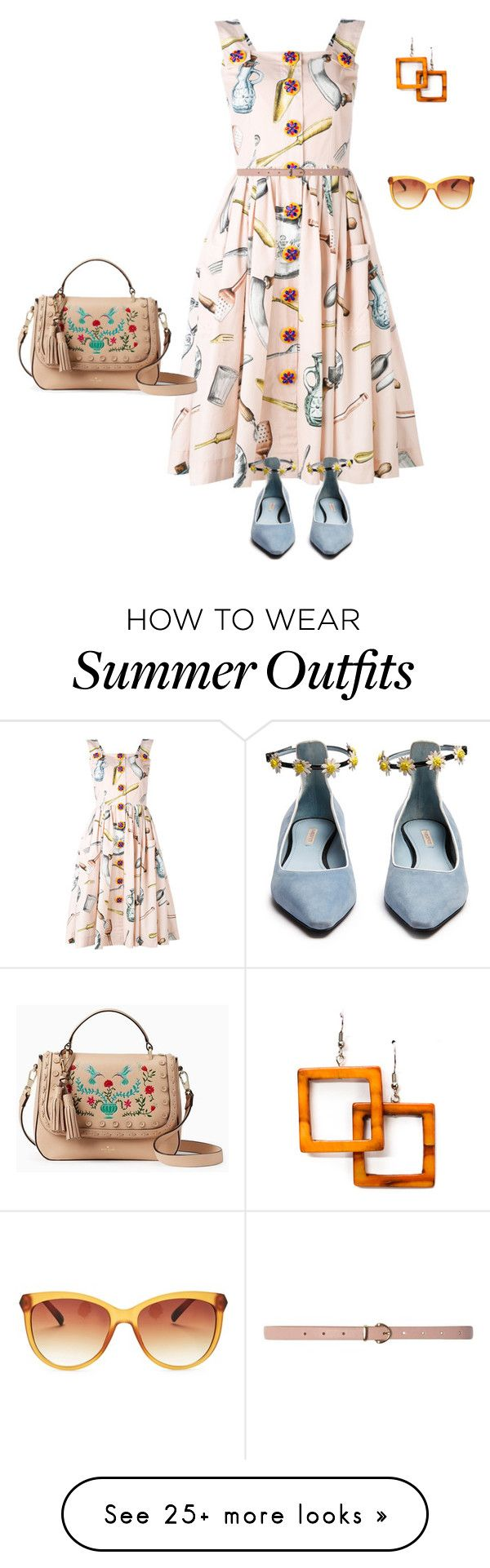 """""""outfit 6452"""" by natalyag on Polyvore featuring Dolce&Gabbana, Fab..."""