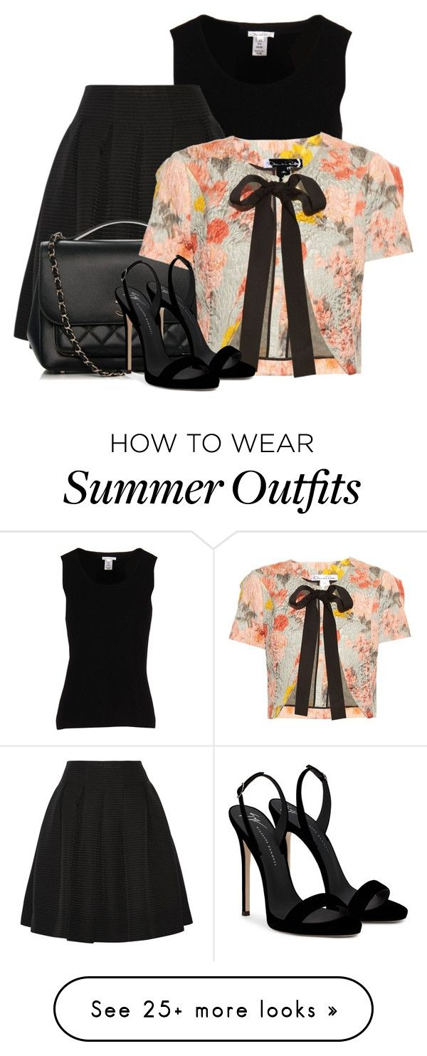 """""""Outfit Only- Work Wear"""" by lilarose111 on Polyvore featuring Oscar de..."""