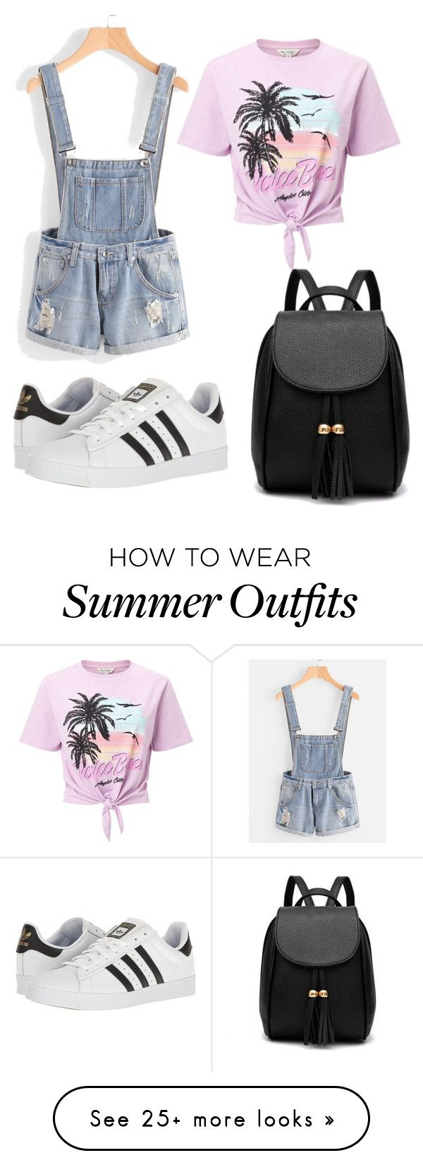 """""""Perfect Summer Outfit!"""" by pink-lilli on Polyvore featuring Miss Self..."""
