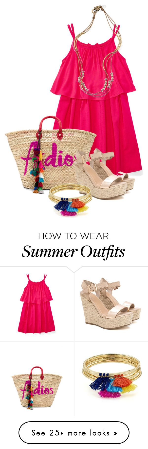 """""""Summer Boho"""" by sonjanaimann on Polyvore featuring MISA Los Angeles, ..."""