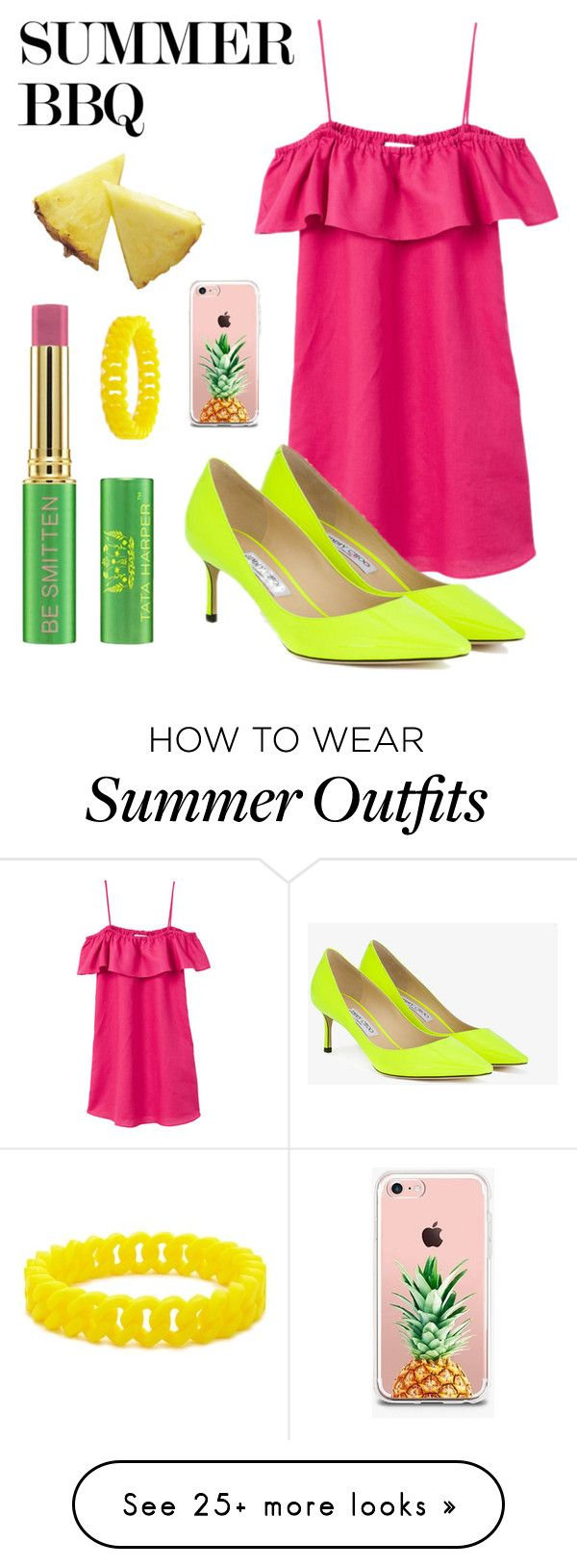 """""""Summer Color Outfit"""" by fashionright on Polyvore featuring Tata Harpe..."""