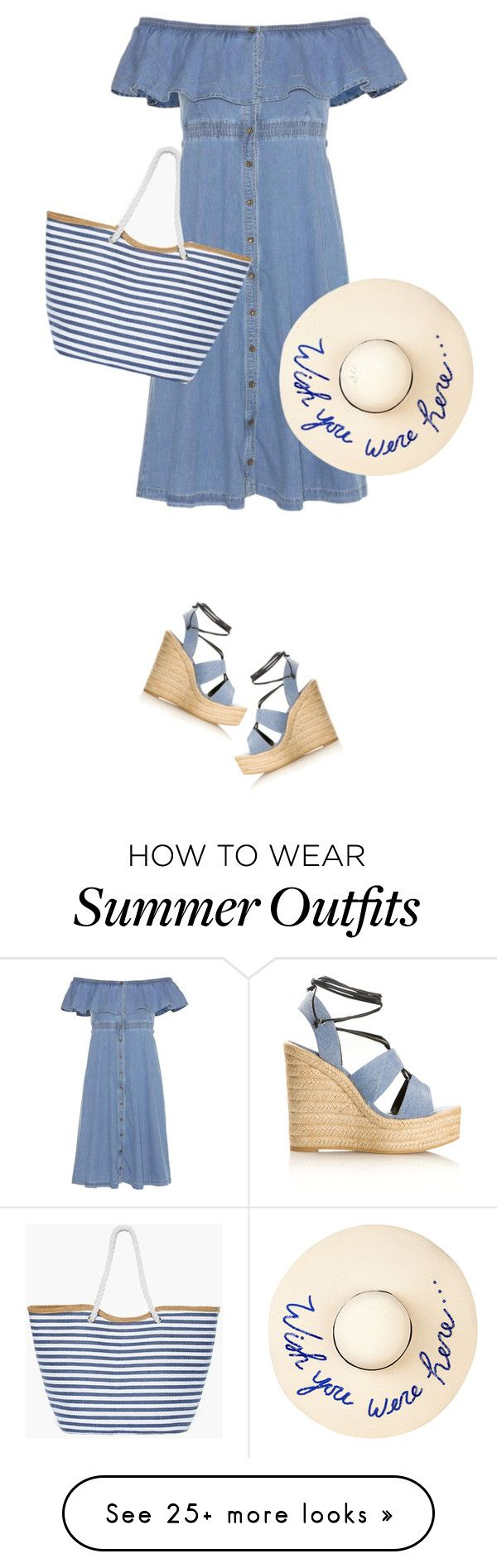 """""""Summer Hat"""" by daiscat on Polyvore featuring Tommy Hilfiger, Yves Sai..."""