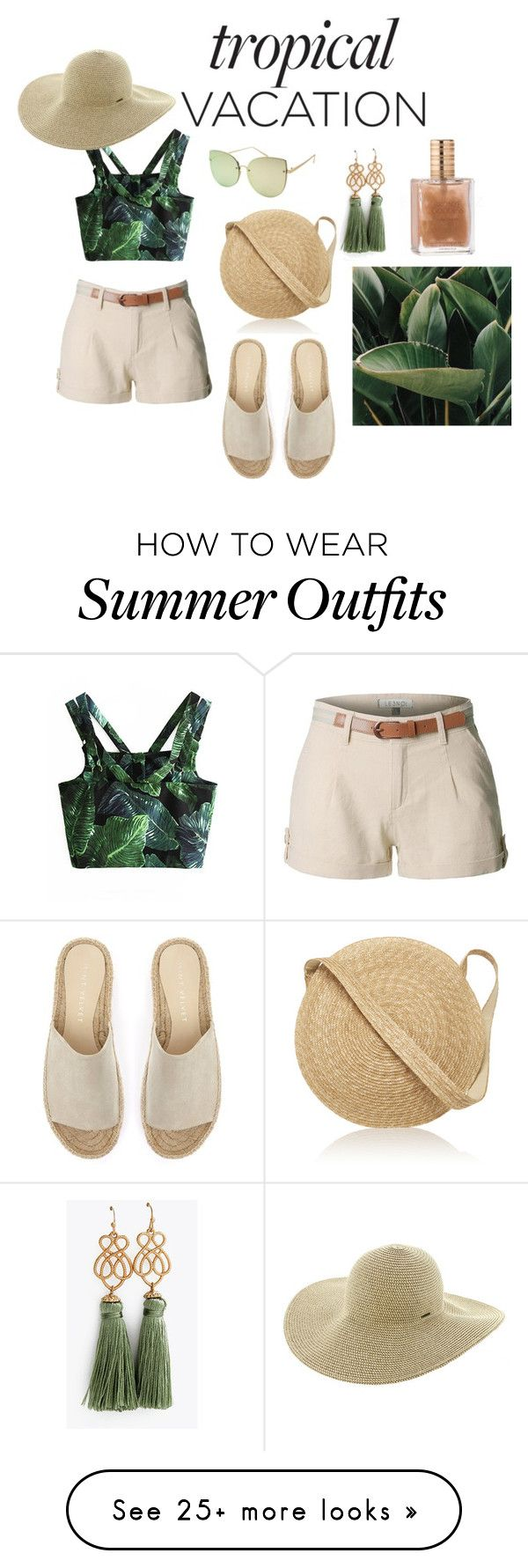 """summer outfit"" by trinh131096 on Polyvore featuring LE3NO, Mint Velve..."