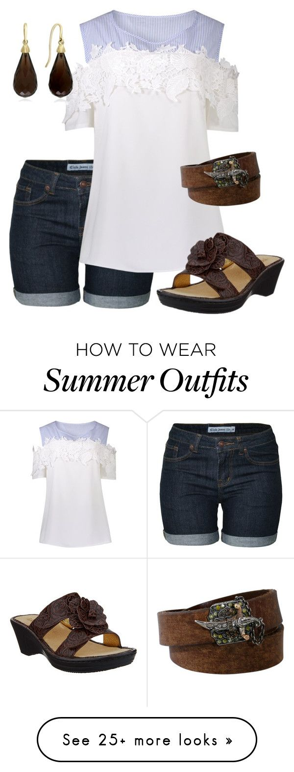 """Summer Shorts"" by debatron on Polyvore featuring Sevan Biçakçi ..."