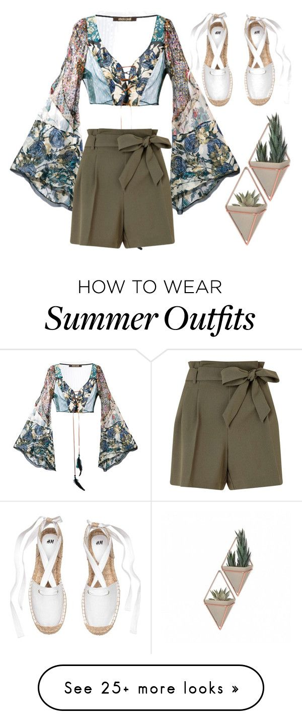 """""""Summer vacation"""" by marzia-universe on Polyvore featuring Roberto Cav..."""