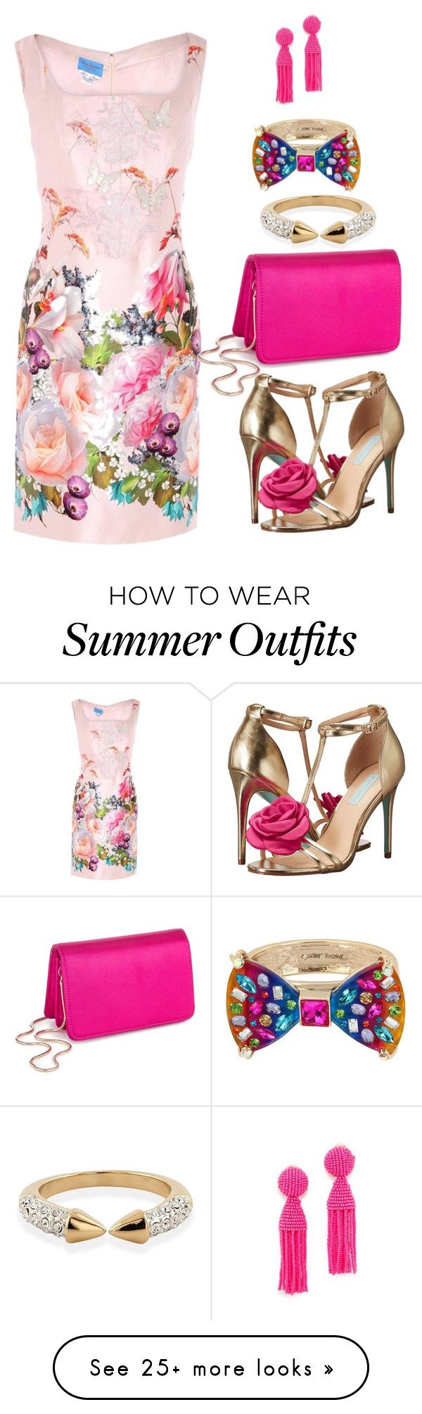 """""""Summer Wedding Attire"""" by sherrysrosecottage-1 on Polyvore featuring ..."""
