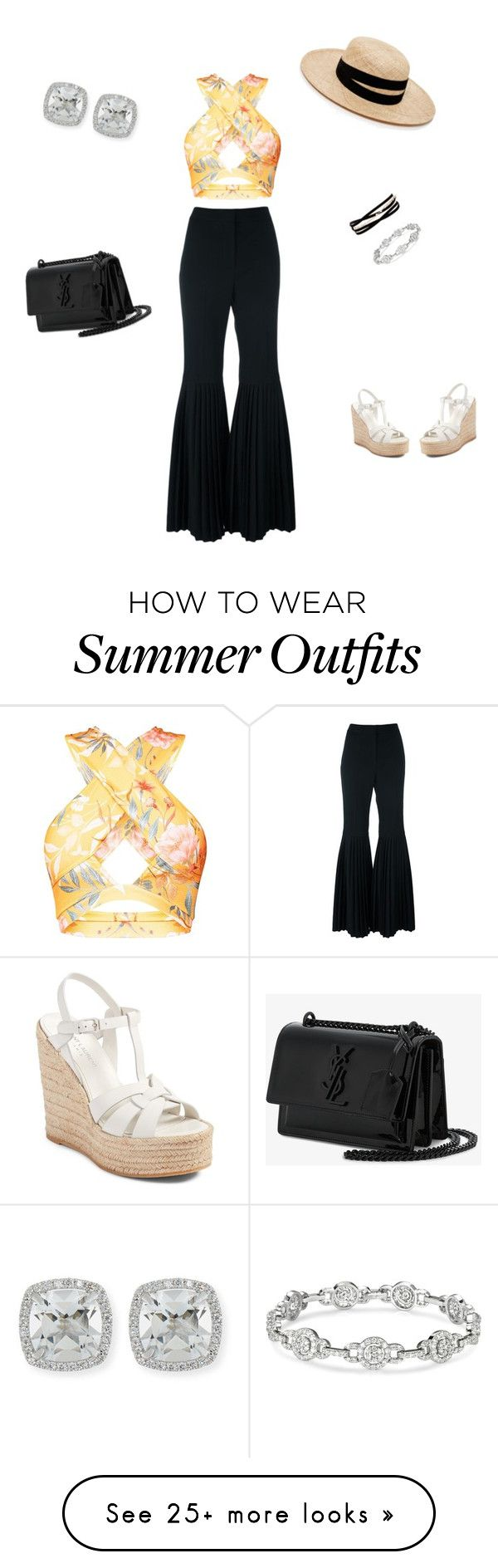 """""""summer wedding outfit"""" by melanierivlin on Polyvore featuring STELLA ..."""