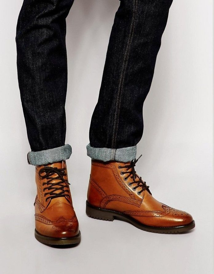 the best s shoes and footwear asos brogue boots in