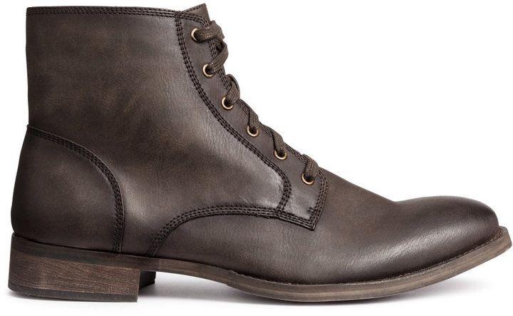 H&M - Boots - Dark brown - Men...