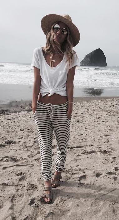 Beach casual.                                                                   ...