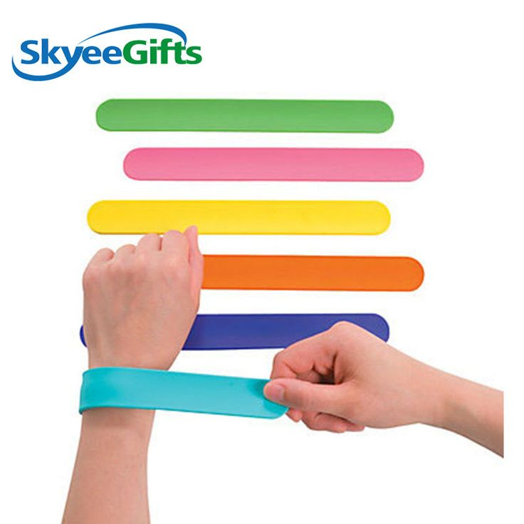 Blank silicone slap wristband     #colorcoatedwristband #siliconewristband #embo...