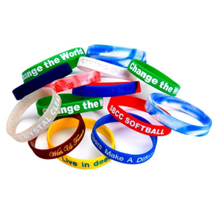 Clarity adjustable silicone wristband for well-known brand    #cutesportssilicon...