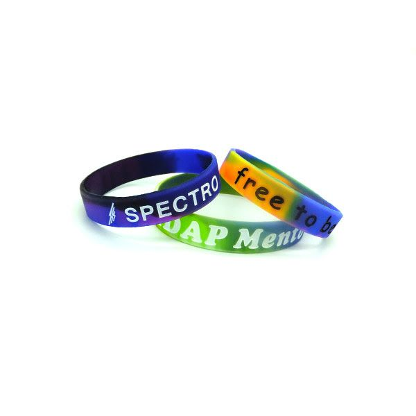 Personalized swirl silicone bracelets  #siliconewristband #customsiliconewristba...