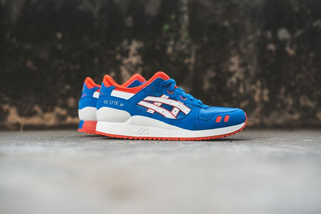 Asics Gel Lyte 3 GS – Strong Blue / White