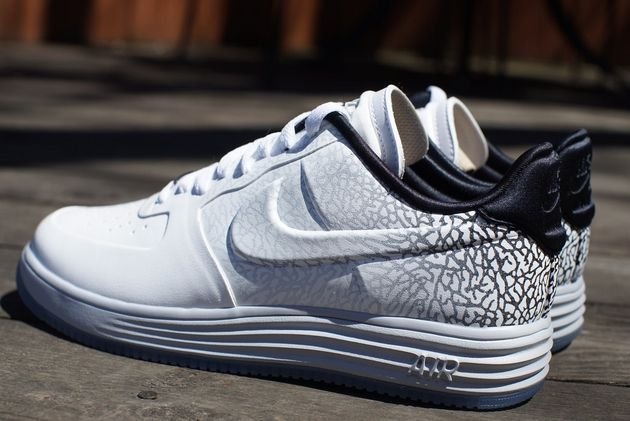 Nike Lunar Force 1 WMNS – Elephant Fade White