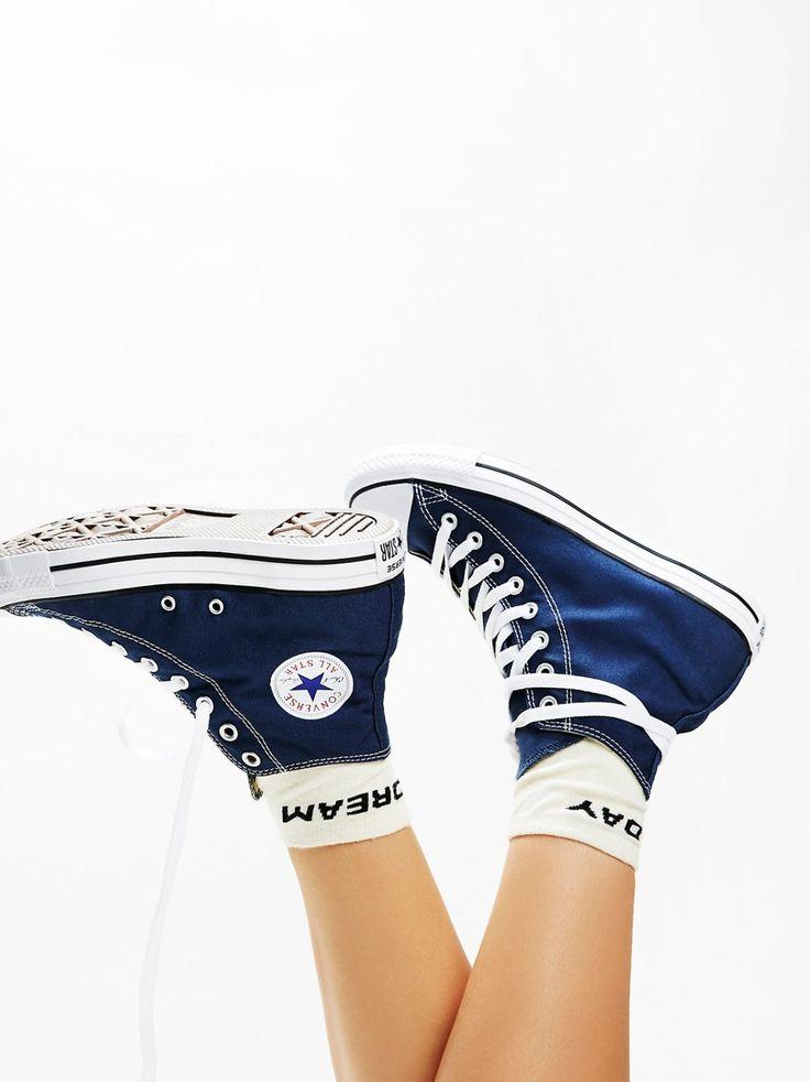 Charlie Hi Top Converse | Classic canvas high top Chuck Taylors....
