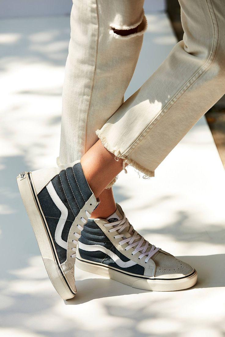 Slide View: 1: Vans Vintage Sk8-Hi Reissue Sneaker...
