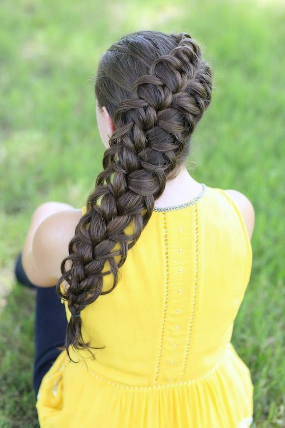 Diagonal French Loop, Different Kind of Braids...