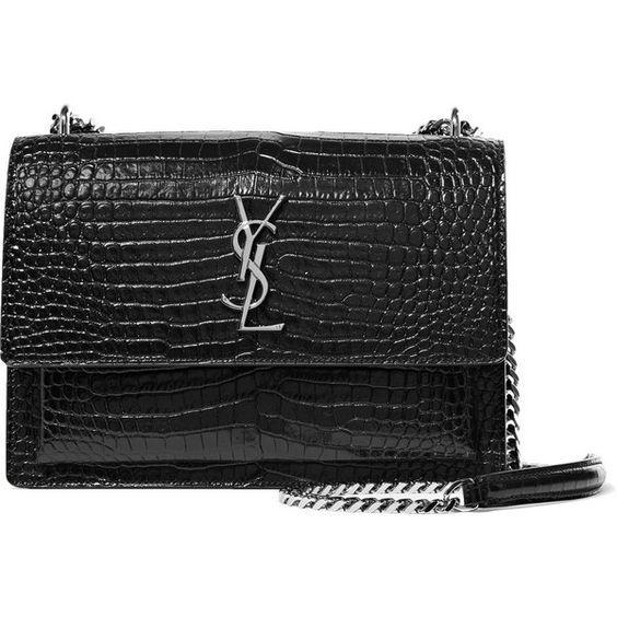 Saint Laurent Luxury Handbags Collection & More Details...